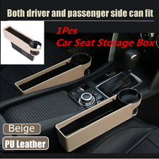 1x Universal Car Driver/Copilot Seat Crevice Storage Box Gap Filler Accessories