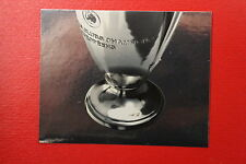 PANINI CHAMPIONS LEAGUE 2008/09 # 8 THE CUP WITH BLACK BACK MINT!!!