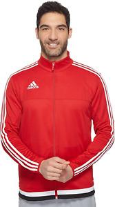 Men's Adidas Power Red/White/Black Tiro 15 Training Jacket