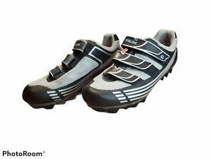Pearl Izumi Vagabond Womens 8.5 Cycling Shoes Gray Black Mountain Bike M4 5097