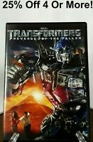 Transformers: Revenge of the Fallen (DVD, 2009)~25% Off 4 Or More!