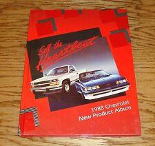 1988 Chevrolet New Product Hardcover Book Dealer Album 88 Chevy Corvette Camaro