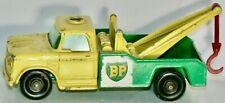 MATCHBOX #13-D DODGE BP WRECK TRUCK MADE IN ENGLAND BY LESNEY 1965