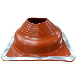 Dektite Premium flashing for metal roofs 170-355mm Pipe/Flues RED Silicone