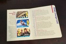 NYNEX 1994 INAUGURAL SERIES OF 4 PHONE CARDS MINT IN ORIGINAL PACKAGE