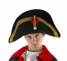 Napoleon General Halloween French Military Adult Costume Bicorne Hat