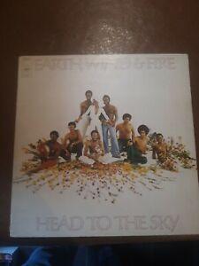 EARYH WIND & FIRE HEAD TO THE SKY VINYL LP 1973