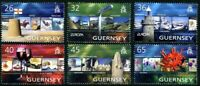 GUERNSEY 2004 EUROPA HOLIDAYS SET OF ALL 6 COMMEMORATIVE STAMPS MNH