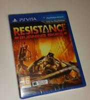 Resistance Burning Skies PS Vita New Sealed UK PAL Sony PlayStation PSV skys