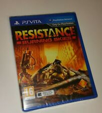 Resistance Burning Skies PS Vita Neuf Scellé UK PAL Sony Playstation PSV Skys