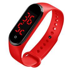 Men Women Smart Watches Digital Sport Waterproof LED Thermometer Bracelet Watch