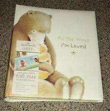 Hallmark~5 Year Memory Book~Bears~Woodland Animals~Baby Album~Scrapbook~ New
