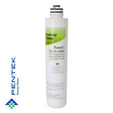 Pentek QC10-CBRR Quick Change Enhanced Carbon Block Water Filter Cartridge