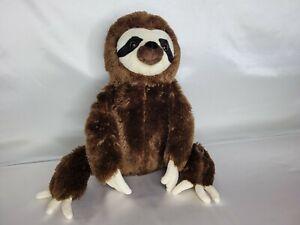 Fiesta Brown Sitting 3 -Toe Sloth Plush 40cm's