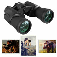 Outdoor Travel 10x50 Zoom Waterproof Day Night Vision Binoculars Telescope + Bag