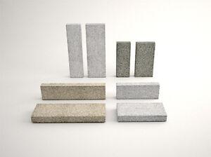Planken, Einfassungen, Begrenzung 120x40x6 cm in Grau und Anthra Grau