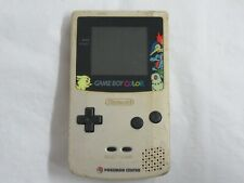 A441 Nintendo Gameboy Color console Pokemon Center Limited Gold GBC x