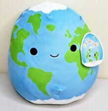 "NEW Squishmallow Kellytoys - ROMAN the EARTH 8"" 2021 NWT SPACE SQUAD ~~ RARE"