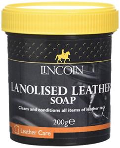 LINCOLN Lanolised Leather Saddle Soap, 200 g