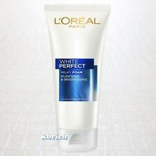 100 g. L'OREAL White Perfect Facial Milky Foam FACE Wash Brighten (1x100 grams)