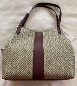 purse tan monogram liz claiborne Shoulder bag