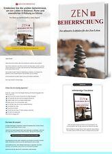 ZEN Beherrschung, Leitfaden für das Zen-Leben - eBook, PLR Lizenz Komplettpaket