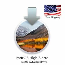 "320GB Hard Drive High Sierra 2.5"" MacBook Pro 2010 2011 A1278 A1286 A1297"
