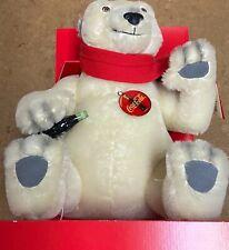 Steiff Ours Polaire Coca-Cola Polar Bear Doll Tag #00648