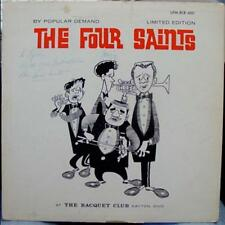 The Four Saints - At The Racquet Club Dayton Ohio LP VG Private Signed 1st