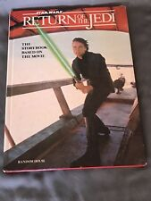 Vintage Star Wars Return of the Jedi Storybook Based on the Movie