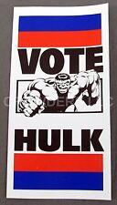 Rare Vintage VOTE Hulk Paper Ticket DC VERSUS MARVEL Comics 95 Promotional Item