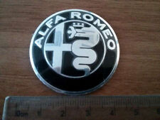 BLACK Alfa Romeo GIULIA steering wheel emblem badge logo insignia 40mm