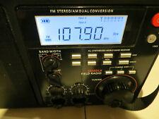 WORKING GRUNDIG S450DLX PORTABLE AM / FM / SHORTWAVE FIELD RECEIVER RADIO