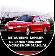 MITSUBISHI LANCER-MIRAGE-COLT  CE Series 1996-2001 Workshop Toolbox Manual CD