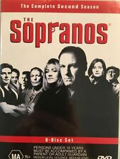 THE SOPRANOS - THE COMPLETE SECOND SEASON - 6 DISC DVD SET AS NEW Region 4