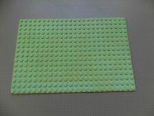 Lego Base Plate Building Board 16 x 24 Studs Light Green - Genuine (3334)