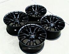 Satin Black C7 Z06 Style Wheels 18X8.5/19X10 Combo SET for 2005-2013 C6 Corvette