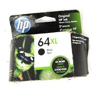 HP 64XL Black Ink Cartridge  Exp 02/2022