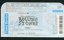 1998 Rolling Stones Dave Matthews unused concert ticket Babylon Amsterdam 7/02