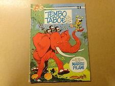 STRIP / ROBBEDOES EN KWABBERNOOT 24: TEMBO TABOE | Herdruk 1977