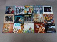 "15 x 12"" VINYL LP's JOB LOT (FOLK/POP/BEAT/1960's) - ALL LISTED & GRADED  [v289]"