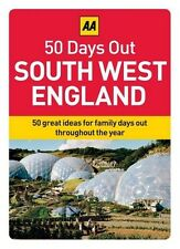 50 GREAT FAMILY DAYS OUT - SOUTH WEST ENGLAND - BOXED INFORMATION CARDS