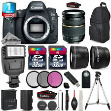 Canon EOS 6D Mark II Camera + AF 28-75mm 2.8 + Flash +Filter Kit + 1yr Warranty