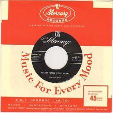 """EARLSTON FORD """"PLEASE OPEN YOUR HEART"""" GOSPEL SOUL 1956 SP MERCURY 70984"""