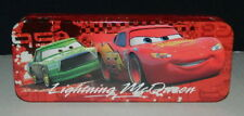 Walt Disney's Cars Characters Tin Catch All Pencil Case Style A, NEW UNUSED