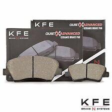 Premium Ceramic Disc Brake Pad FRONT + REAR New Full Set + Shims KFE1543 KFE1594