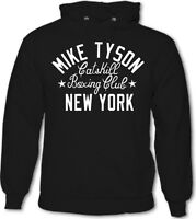 Iron Mike Tyson Catskill Boxing Club Gym New York Mens Hoodie MMA UFC Gloves Top