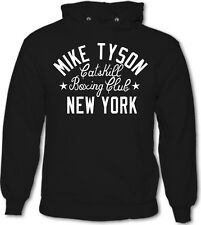 3d75fb319ff Iron Mike Tyson Catskill Boxing Club Gym New York Mens Hoodie MMA UFC  Gloves Top