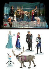 New - FROZEN FIGURINE PLAYSET - Disney OLAF Elsa ANNA Sven KRISTOFF CAKE TOPPERS