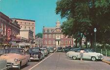 E8478 RI, Newport Washington Square Postcard